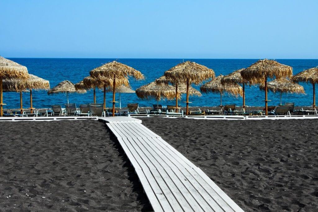 Black Beach, Santorini
