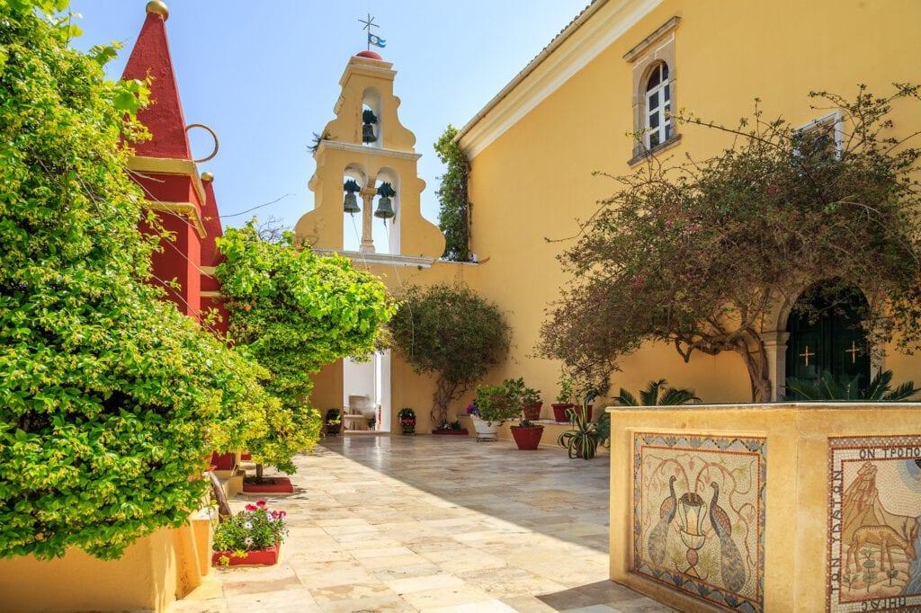 Corfu Monastery, Paleokastritsa